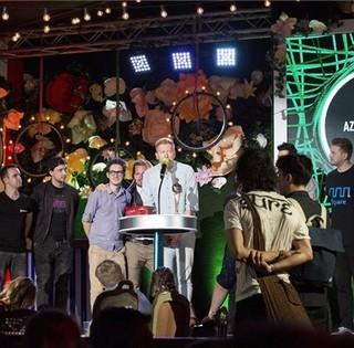 A Halott Pénz lett az év zenekara, Dzsudzsák Balázs adta át a díjat a zenekarnak