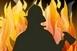 Kigyulladt az aljnövényzet a baranyai Kisbudméron