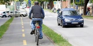 Kerékpárút épül a belváros és Sikonda között