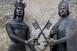 Felavatták az egyetem alapítóinak, Nagy Lajos király és Vilmos püspök szobrát