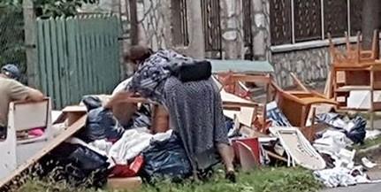 Elképesztő állapotok Uránvárosban: szeméthegyek magasodnak az Endresz György utcában
