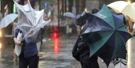 Borús, szeles, esős idő várható a jövő héten, szóval készítsük a kabátokat