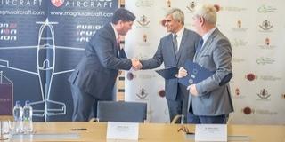 Együttműködési megállapodást kötött a Magnus Aircraft Zrt. és az egyetem