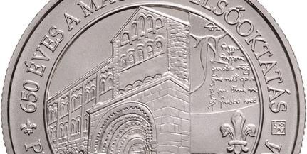 Emlékérmét bocsát ki a Pécsi Tudományegyetem alapításának 650. évfordulójára az MNB