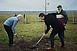 650 fát ültettek a PTE jubileuma alkalmából Tüskésréten