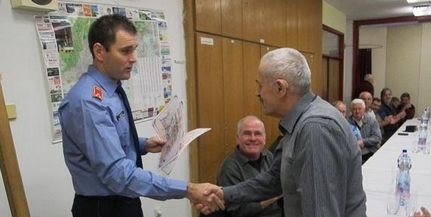 Találkozót tartottak a nyugdíjas tűzoltóknak