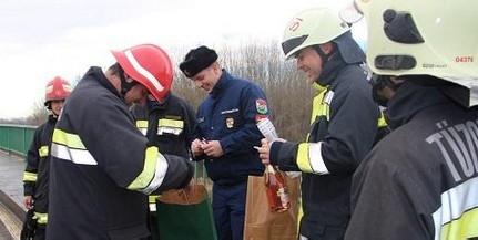 Közösen búcsúztak 2017-től a magyar és a horvát tűzoltók