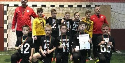 Rangos tornát nyert a PMFC U10-es csapata, a Videotont is megelőzték a Főnix Kupán