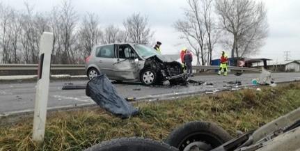 Halálos ütközés Pécs határában: meghalt egy ember a karambolban az 57-es főúton