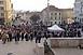Ellenzéki tüntetés március 15-én a pécsi Széchenyi téren (1.)